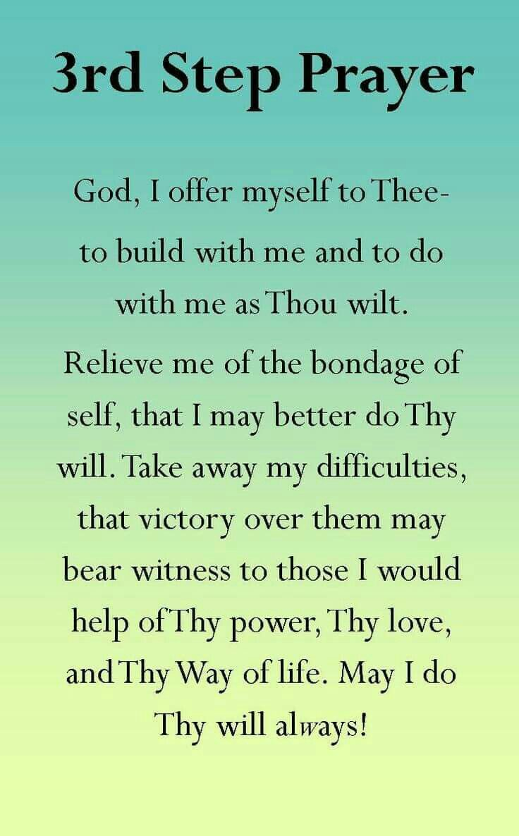 Worksheets Aa 3rd Step Worksheet 3rd step prayer truth pinterest recovery sobriety and sober the third is found in book alcoholics anonymous aa a fellowship that help people suffering from alcoholism