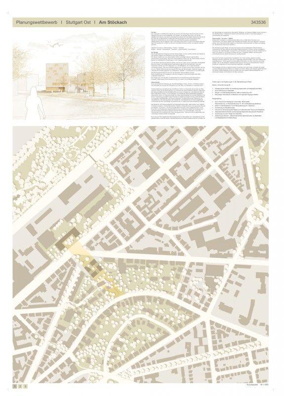 1. Preis nach Überarbeitung: harris + kurrle architekten, Stuttgart Joel Harris L.Arch.: JETTER Landschaftsarchitekten, Stuttgart Frank Jetter Mitarbeit: E. G. Ogando · A. Maurer