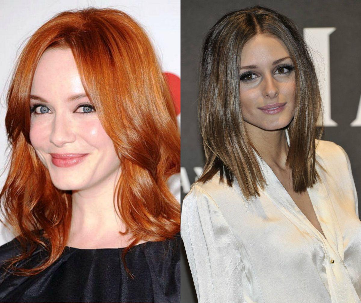 Celebrities Medium Length Hairstyles hair ideas