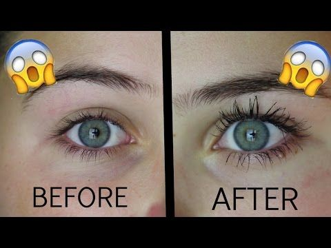 cfaa3635d4e How to Get Your Biggest Natural Eyelashes Ever! (Clump Free) - YouTube
