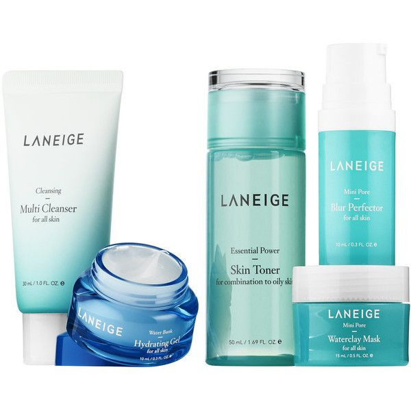 Laneige Pore Care Trial Kit 25 Liked On Polyvore Featuring Beauty Products Skincare Face Care Gel Ma Skin Care Toner Products Skin Toner Toner For Face