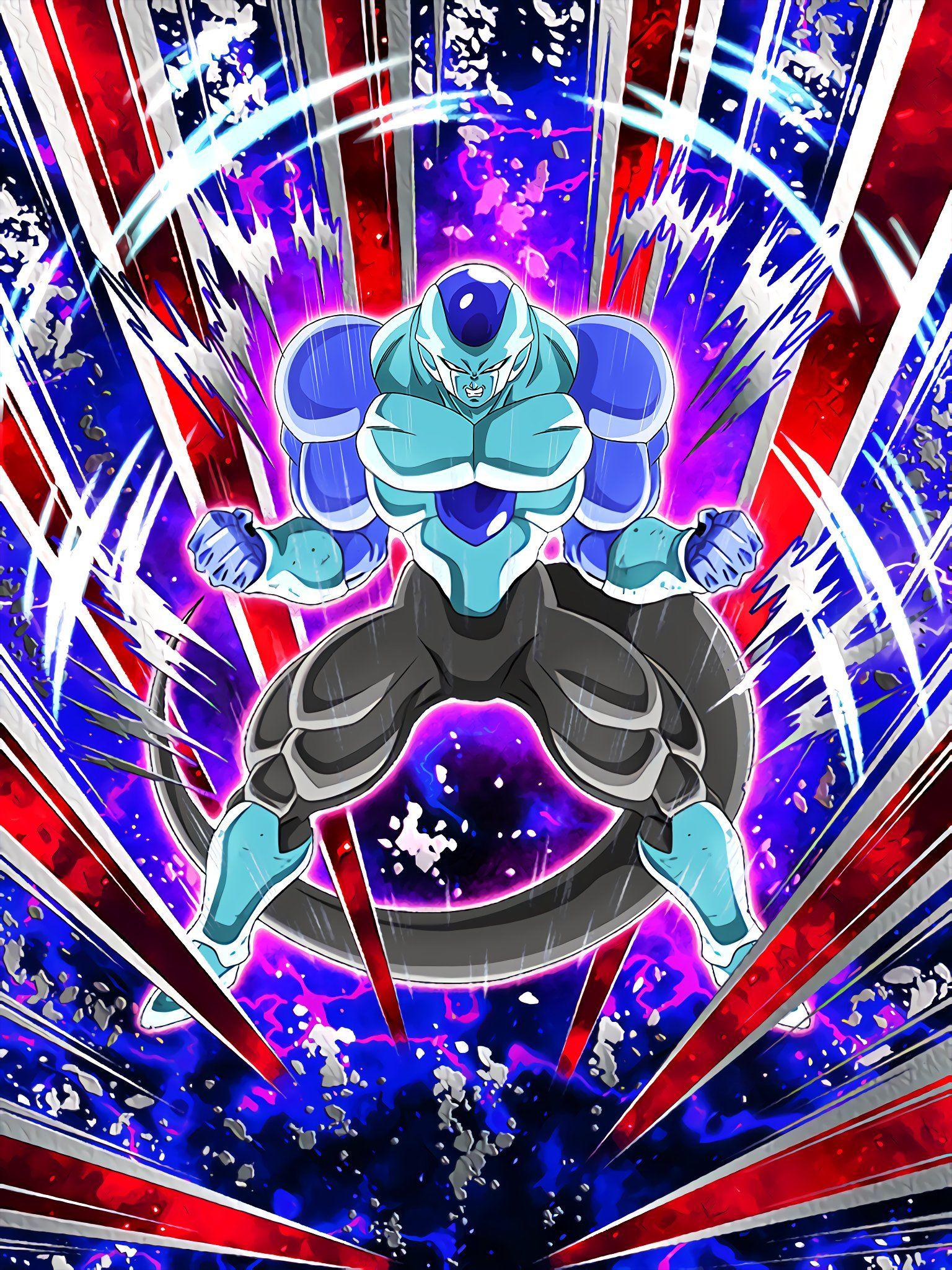 Demonstration Of True Strength Frost Full Power Anime Dragon Ball Super Dragon Ball Wallpapers Dragon Ball Art