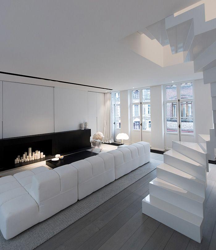 Salon Design D Interieur Winkel | Carrelage Salon Pour Un Intérieur ...
