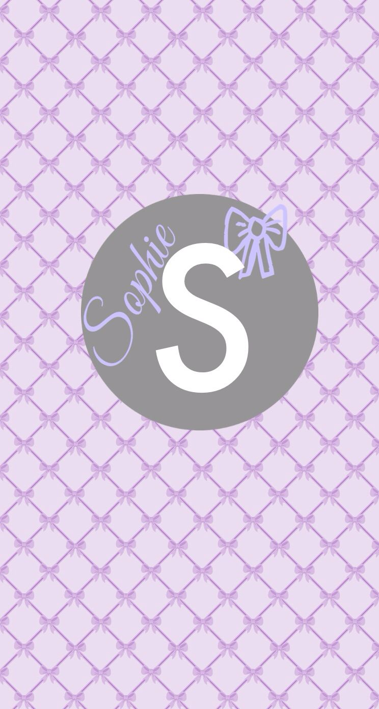 Sophie Wallpaper Backgrounds Wallpaper Lettering
