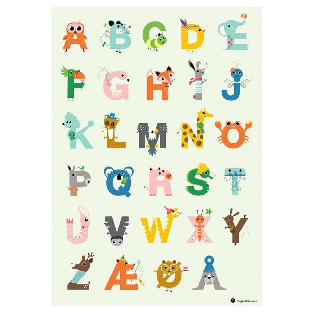 alfabetplakat  Planificateur de projet, Coloriage disney