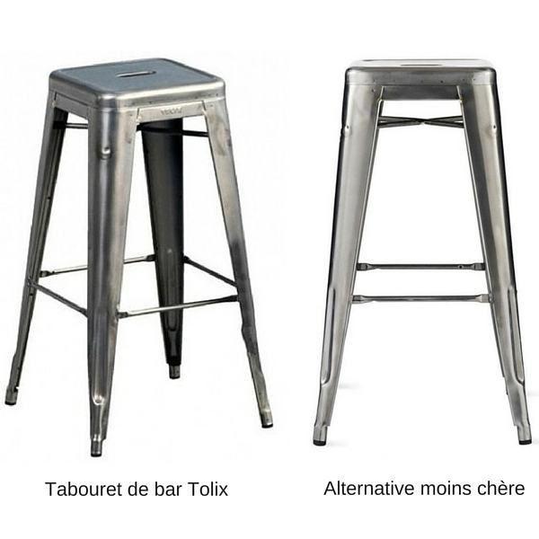 chaise de bar tolix elegant stunning tabouret de bar. Black Bedroom Furniture Sets. Home Design Ideas