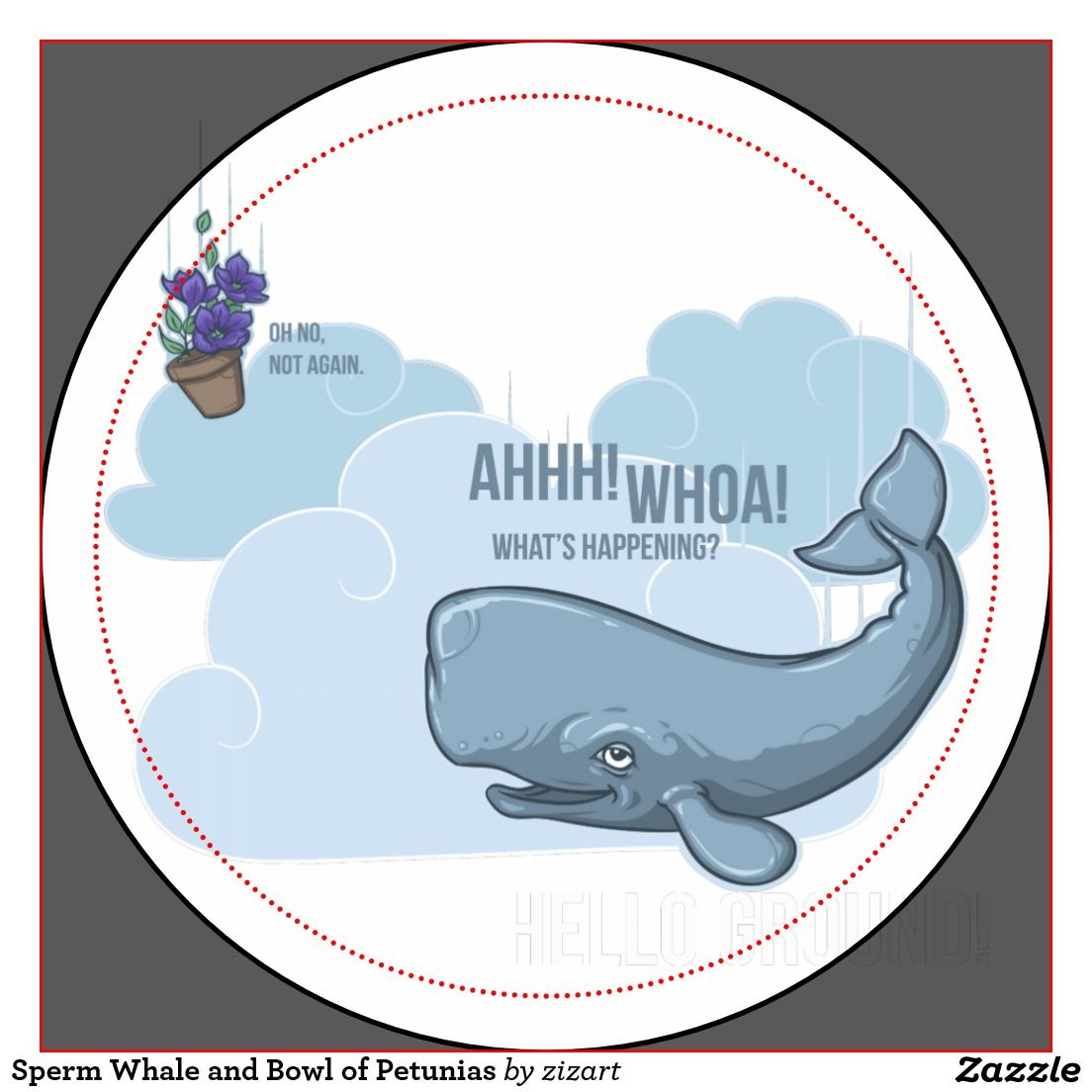 Was and sperm whale petunias sorry, that