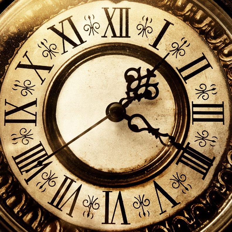 Старинные часы рисунок