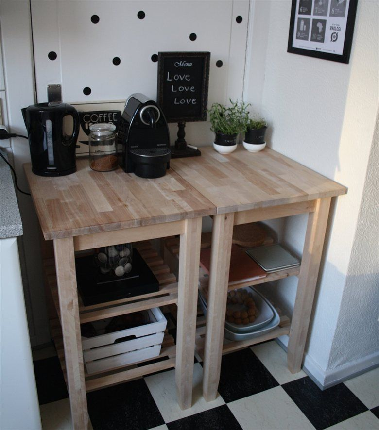 Ikea 2 Together For A: Push Two BEKVÄM Trolleys Together To Make Room For A
