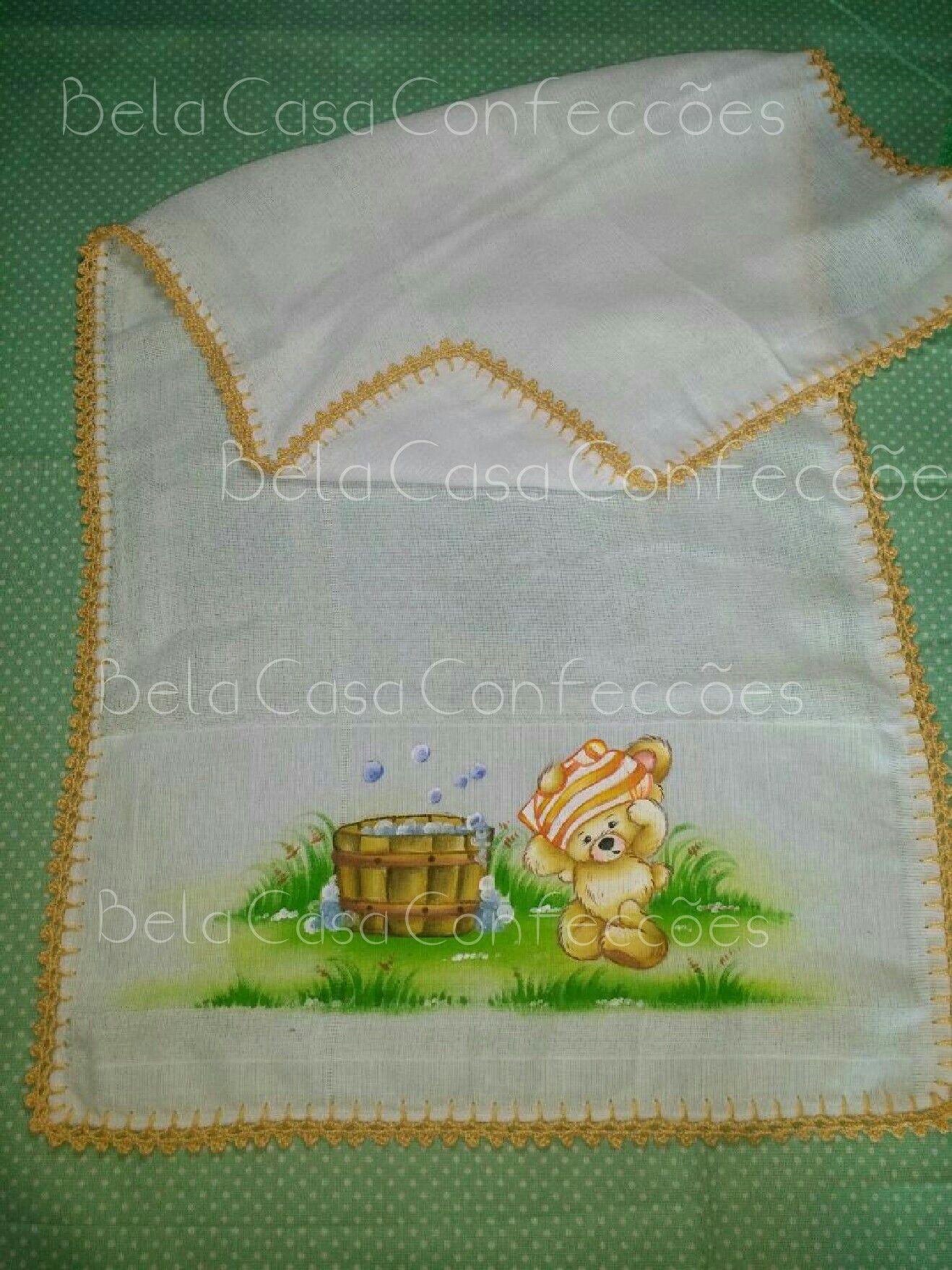 Ursinho Fralda Fralda de ombro  Bebê