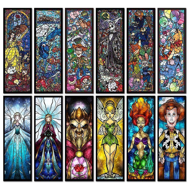 Cartoon diamond painting embroidery anime fairy cross