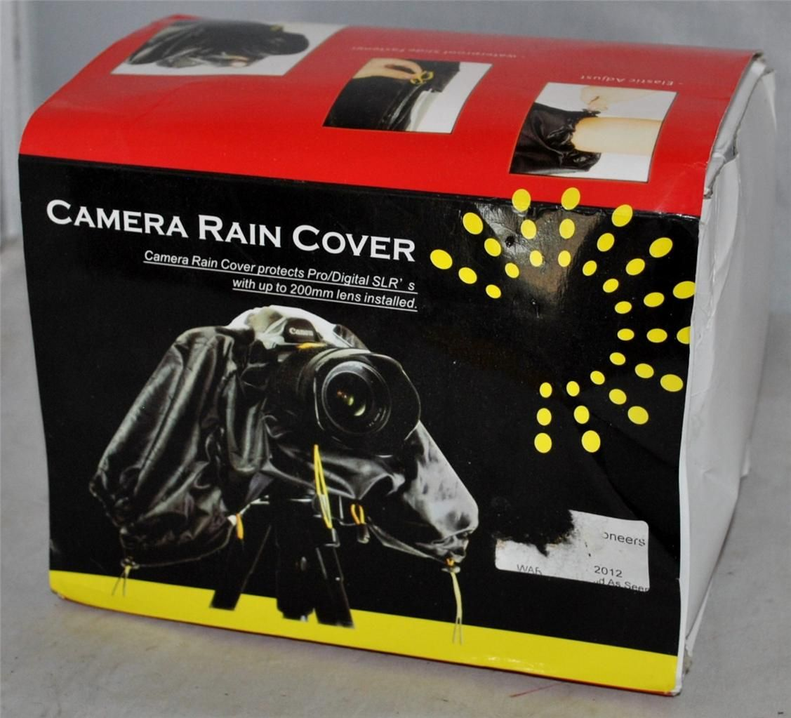 Camera Rain Cover (Protects Pro/Digital SLR's with up to 200mm Lens Installed)