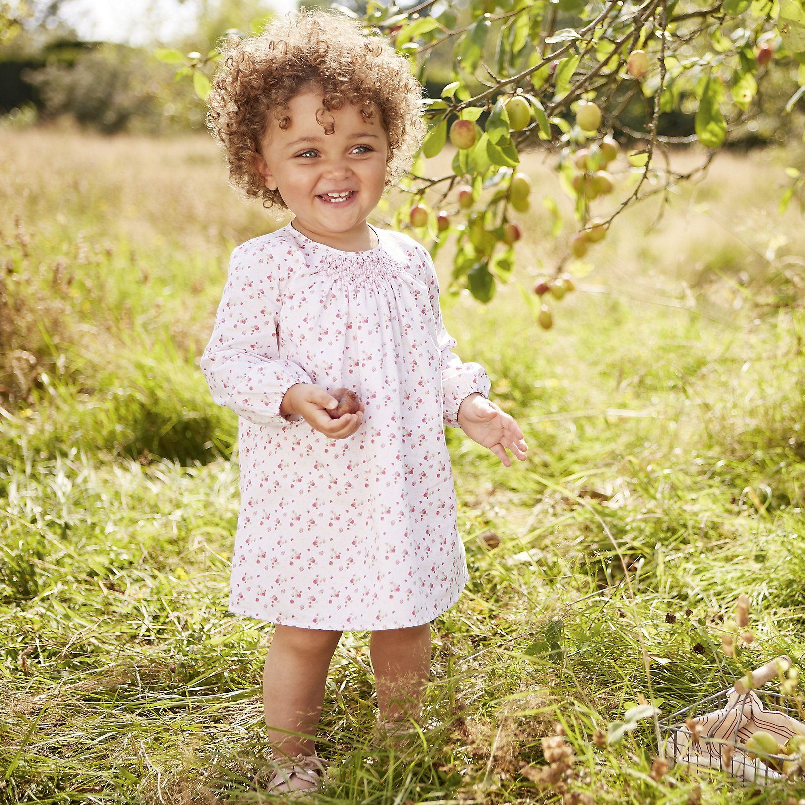 Green dress baby images  Strawberry Smocked Dress  Pink  Baby girl dresses and Babies