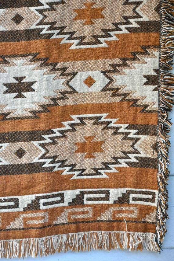 Southwestern Throw Blanket Navajo Rug Blanket Throw Wall Hanging Ladeadeisogni  Navajo