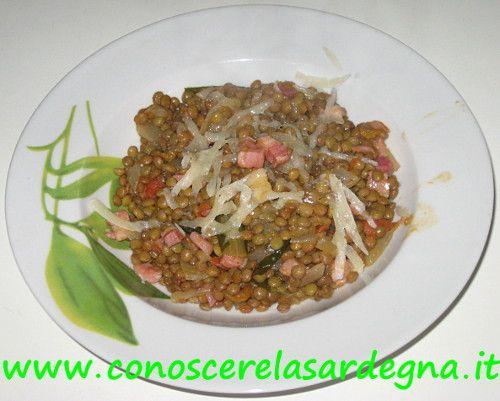 Cucina sarda zuppa di lenticchie alla sarda ricetta primi piatti sardegna ricetta facile e - Cucina sarda primi piatti ...