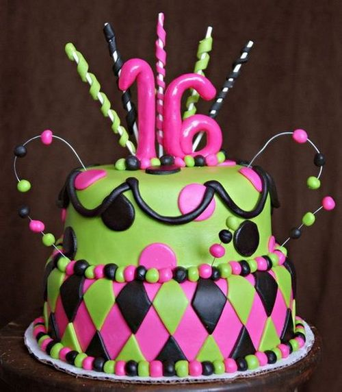 Funny 16th Birthday Cakes Ideas