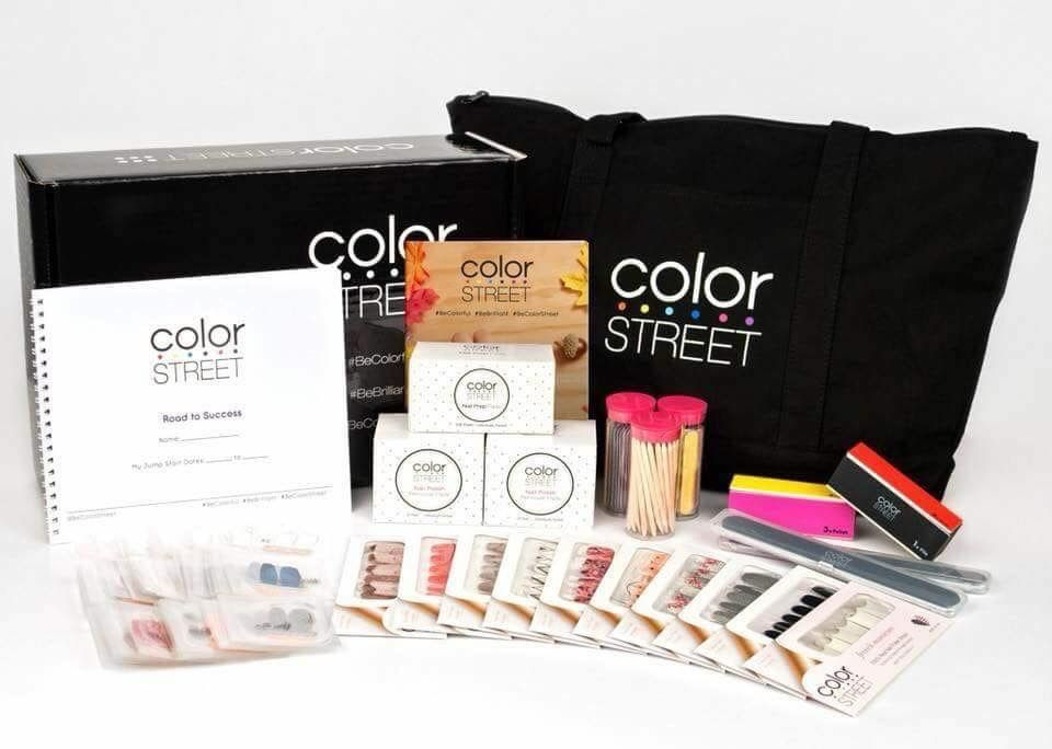 Color Street Nails Starter Kit. Costs 129.00 (250.00