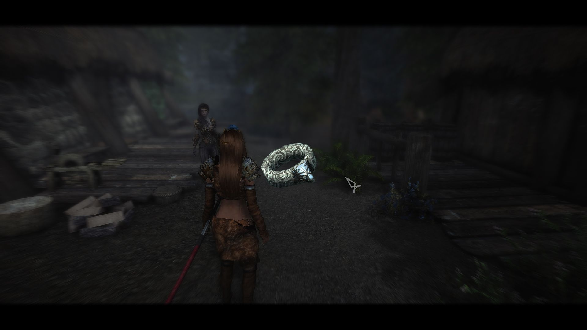 2k Retextured Ring Of hircine at Skyrim Special Edition