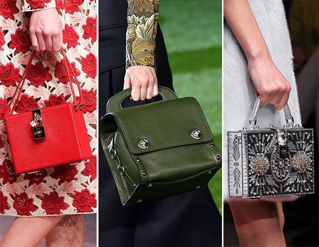 Fall Winter 2017 Handbag Trends
