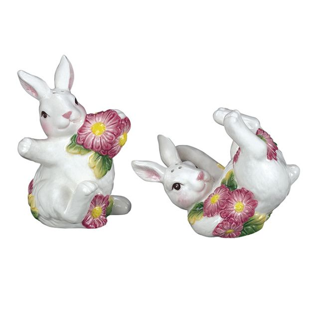 Bunny Rabbits with Bellis Salt and Pepper