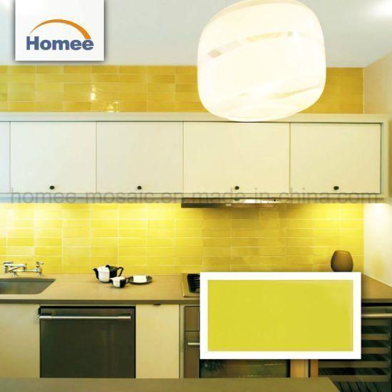 Bathroom Yellow And In 2020 Bathroom Wall Tile Bathroom Backsplash Bathroom Decor Colors