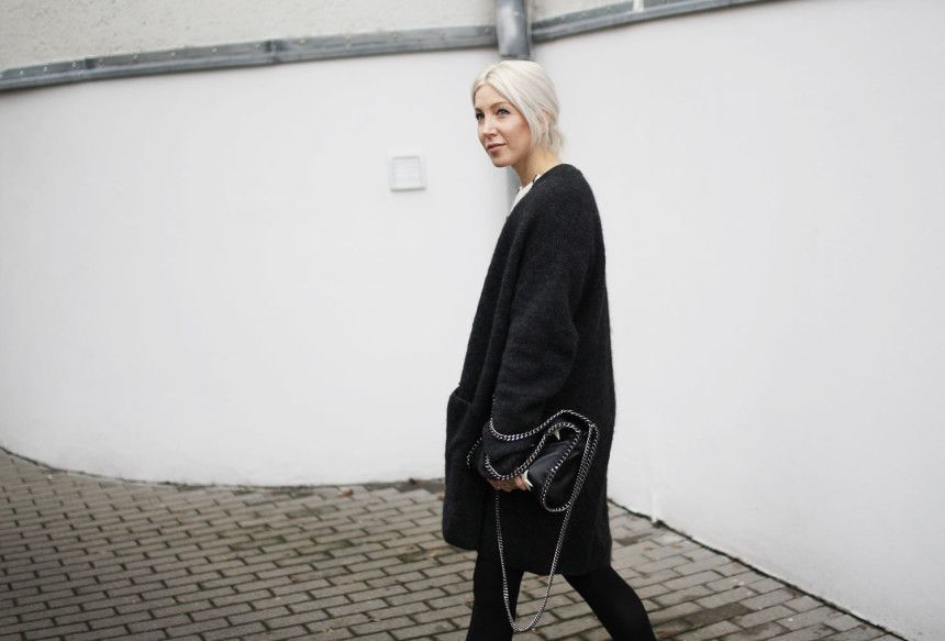 Look, Leipzig, ootd, Outfit, Streetstyle, Streifen, Pullover, Knit, Topshop, Isabel Marant, Boots, Winterstiefel, Ganni, skirt, Stella McCartney, Cardigan, H&M, Falabella, Stylediary, Winter, Fashion, Blog, stryleTZ