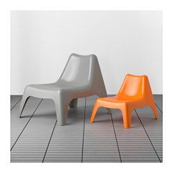 BunsÖ Children S Chair Outdoor Orange Ikea