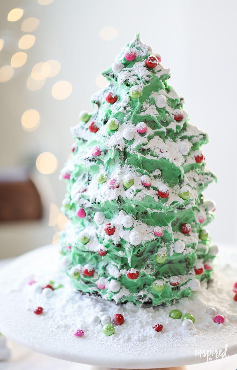 Christmas Tree Dessert Gingerbread Cake Christmas tree