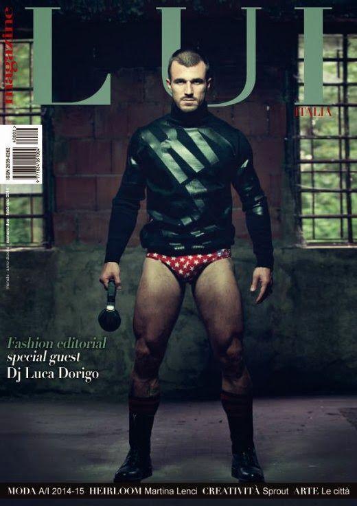 Calendario Luca Dorigo.Luca Dorigo Supersexy E Mezzo Nudo Su Lui Magazine Le
