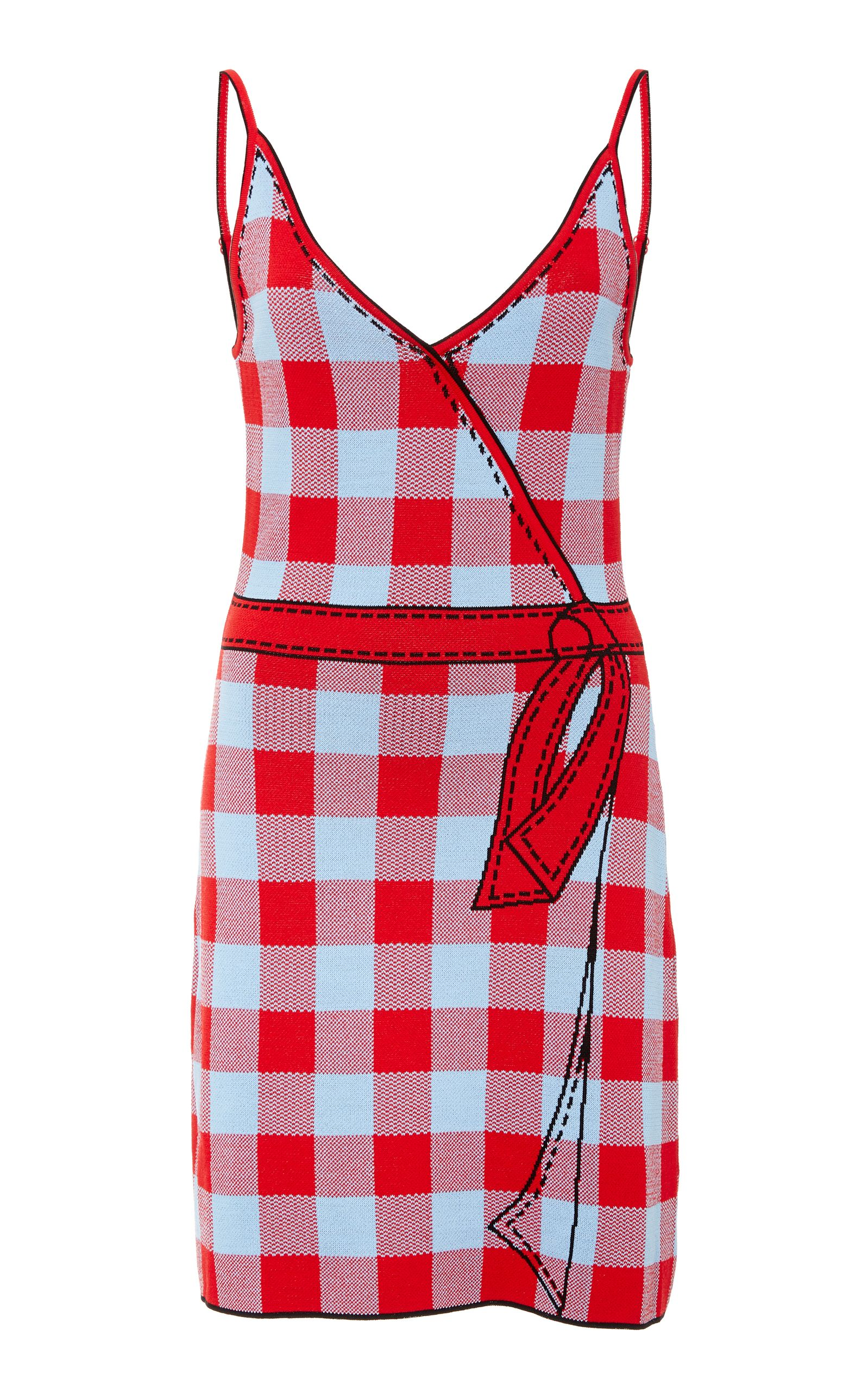 426a0cb63477 ADAM SELMAN ADAM SELMAN SECRET AGENDA SLIP DRESS. #adamselman #cloth # | Adam  Selman | Pinterest | Dresses, Slip on and Gingham dress