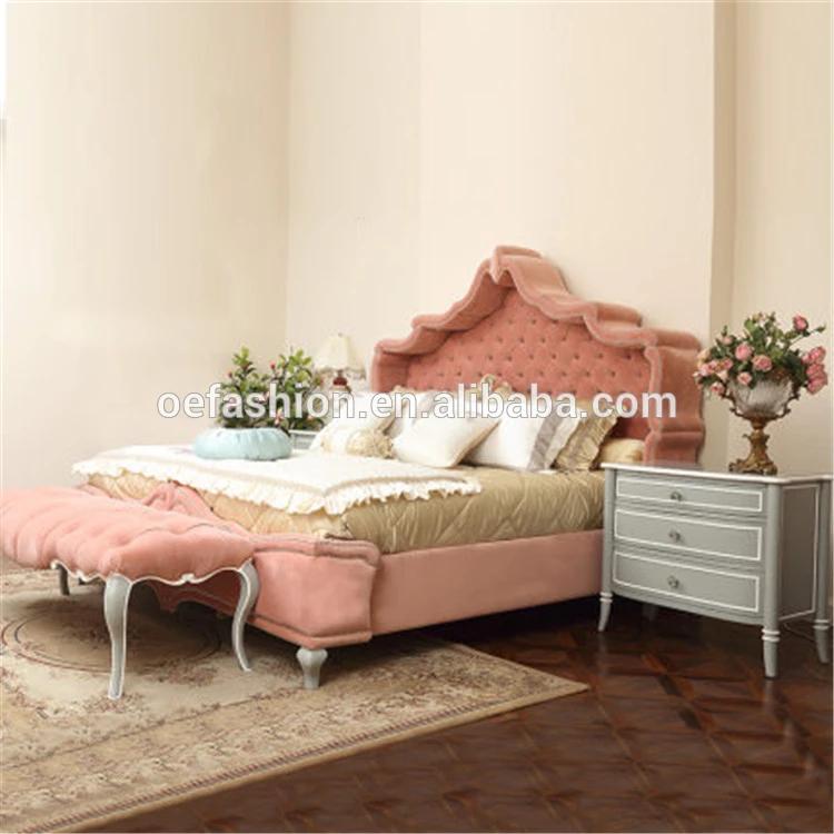Oe Fashion High Quality Home Furniture Bed Design Royal Furniture