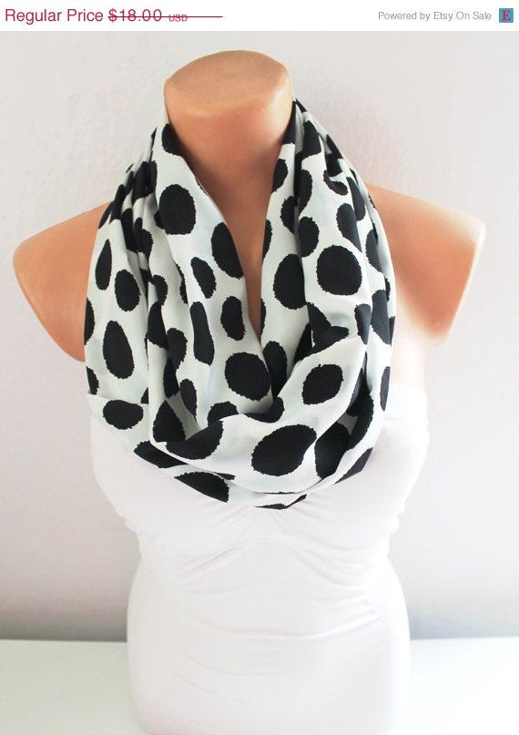 ON SALE Infinity Scarf Loop Scarf Circle Scarf Cowl by fairstore ...