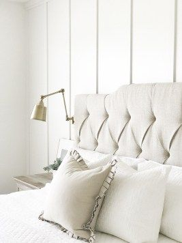 easy no sew drop cloth curtains - | Neutral paint colors ...