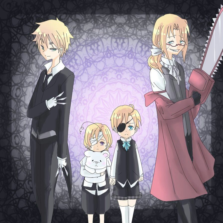 Google themes death note - Hetalia With Kuroshitsuji Theme Xdcanada And America Is The Little Master Probably Share Ciel Role Xdengland Is Sebastian The Demon Butlerfrance Is Gre