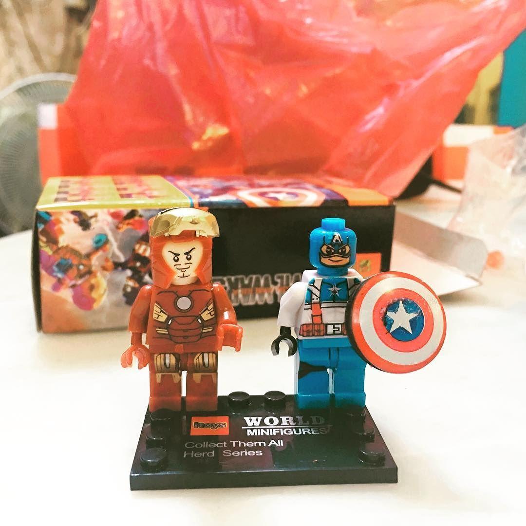 #아이언맨 #캡틴아메리카 #어벤져스 #avengers #ironman #captainamerica #legostagram #lego #레고 #짜뚜짝시장 #쇼핑 아직 미완성;;;;; 졸귀탱귀 by _moonlightjain_