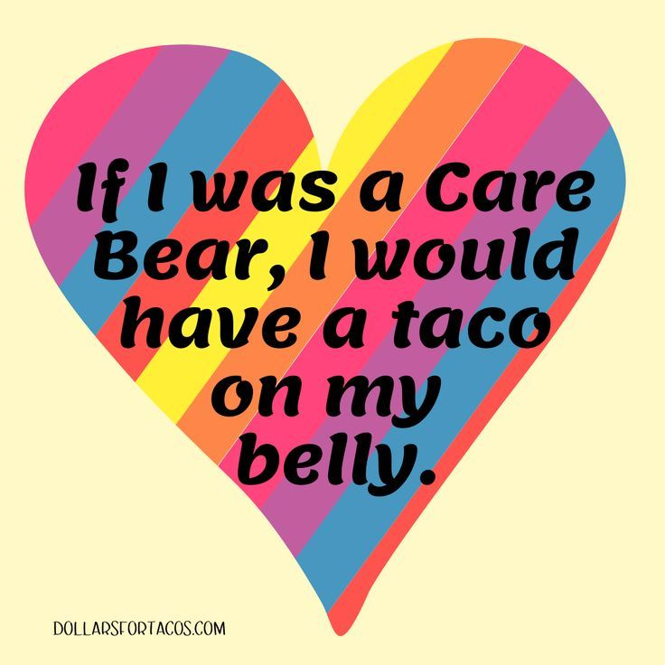 Taco sharing is caring