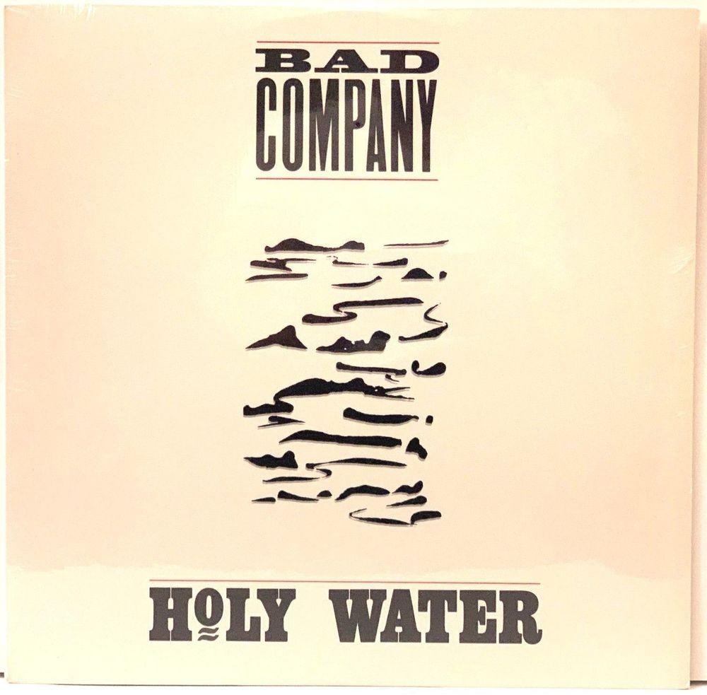 Bad Company Holy Water Sealed Original Atco A1 91371 Lp Vinyl