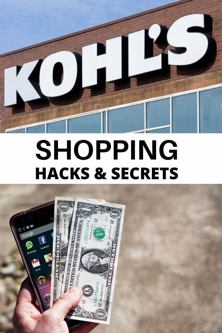 How Does Kohl's Cash Work Shopping hacks, Cash program