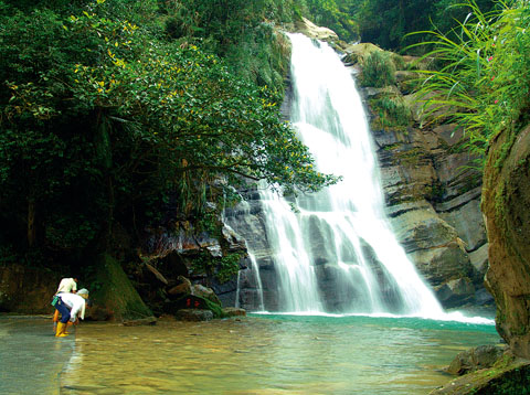 德興瀑布 Taiwan