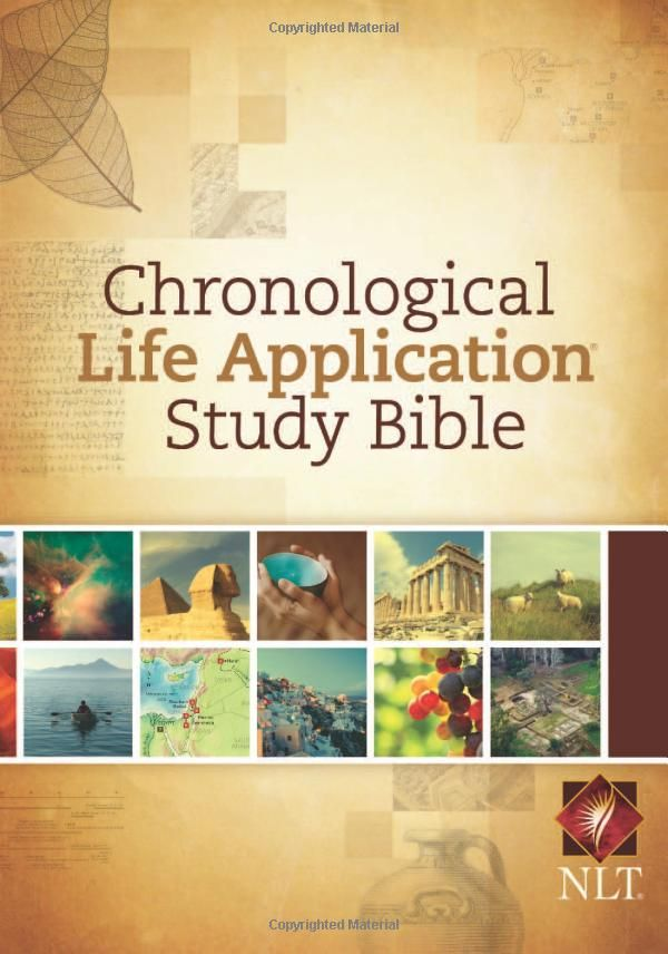 Chronological Life Application Study Bible Amazon