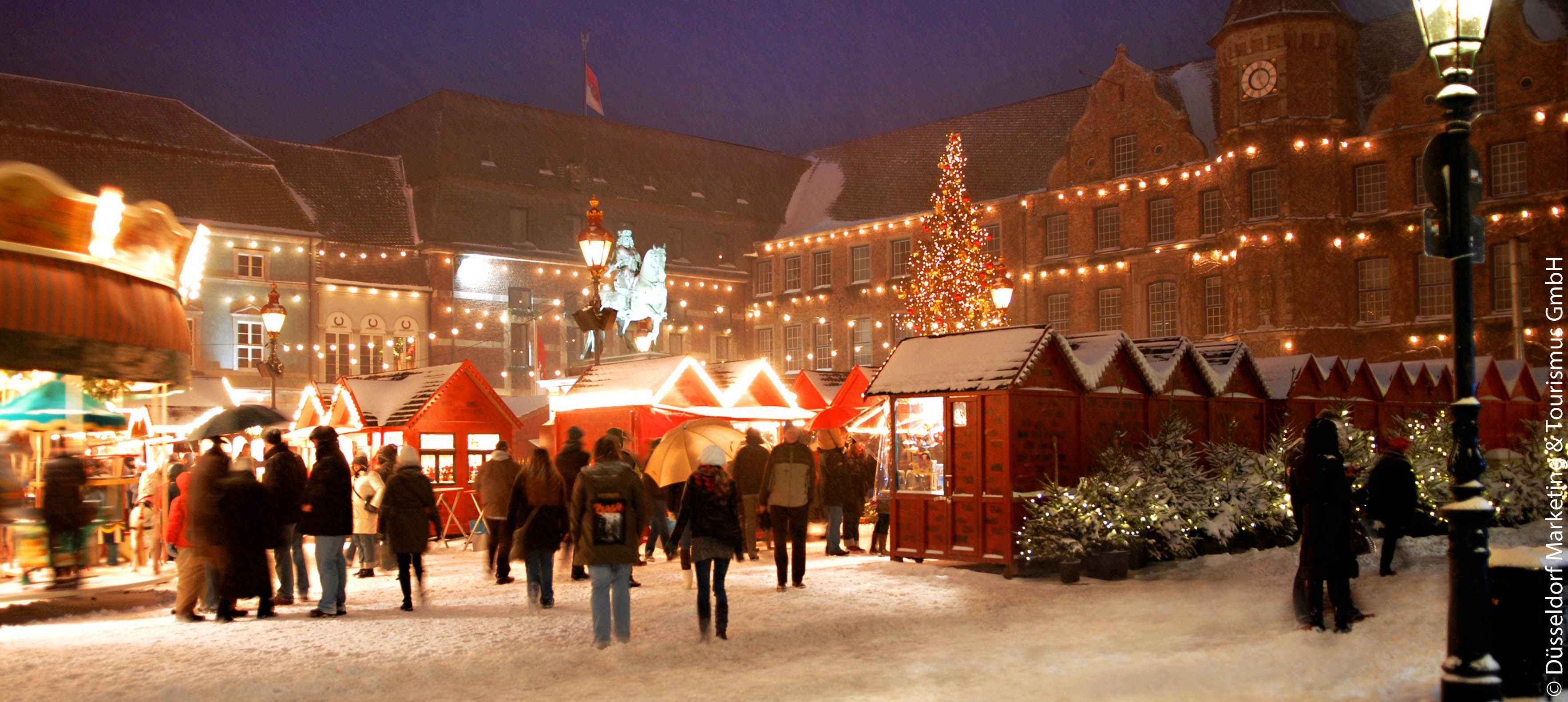 Düsseldorf's Weihnachtsmärkte christmas market