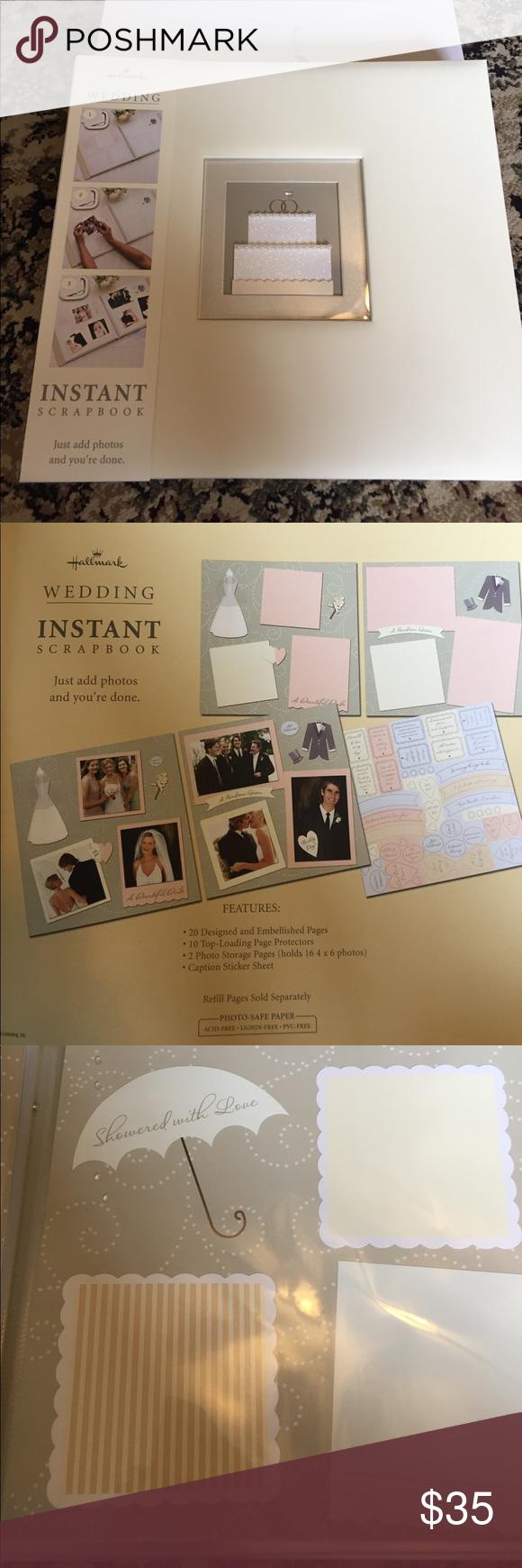 Wedding Hallmark Scrapbook Nwt Glitter Stickers Nwt 10 Top And