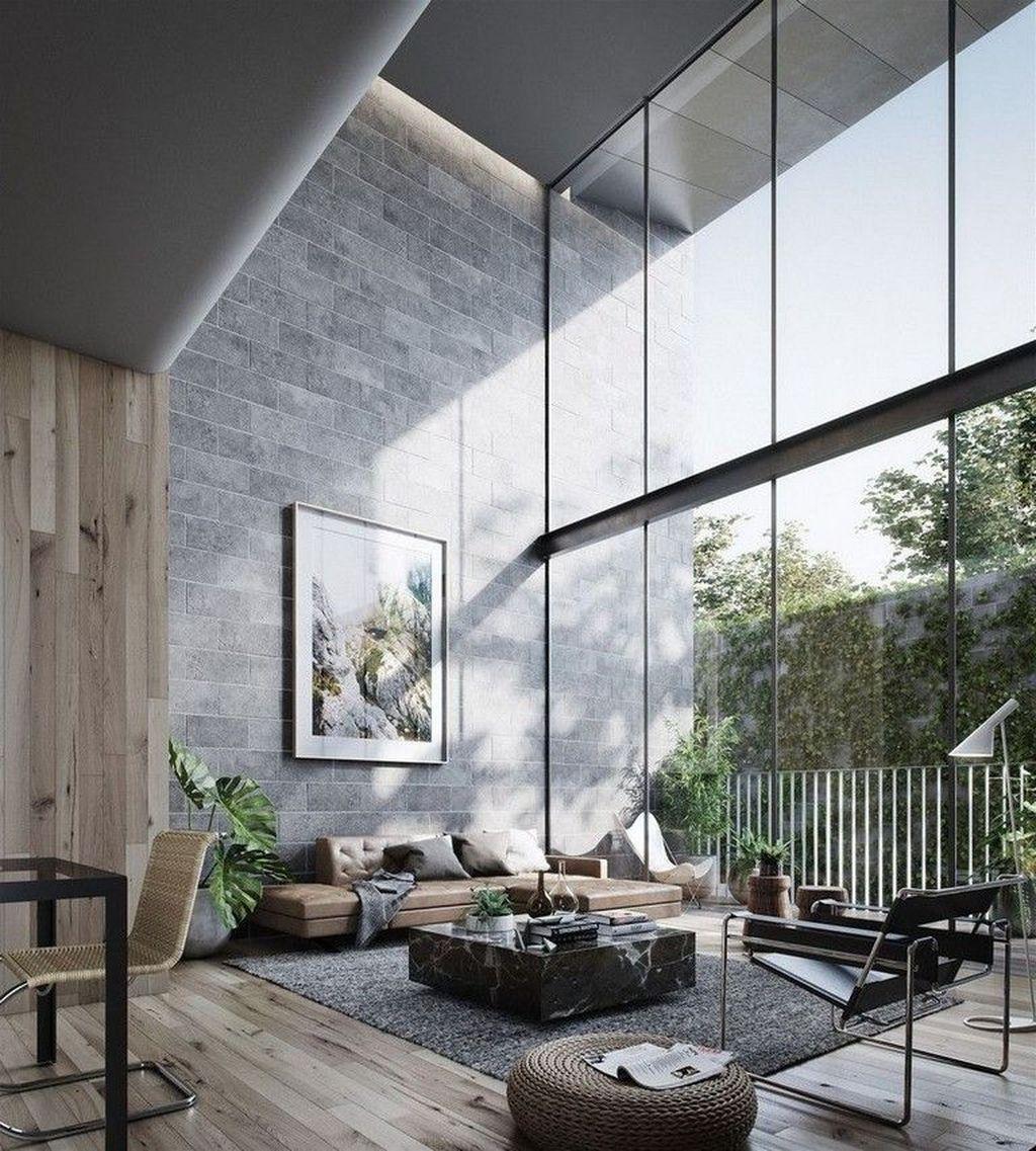 adorable contemporary living room design ideas also minimal interior inspiration space home rh pinterest