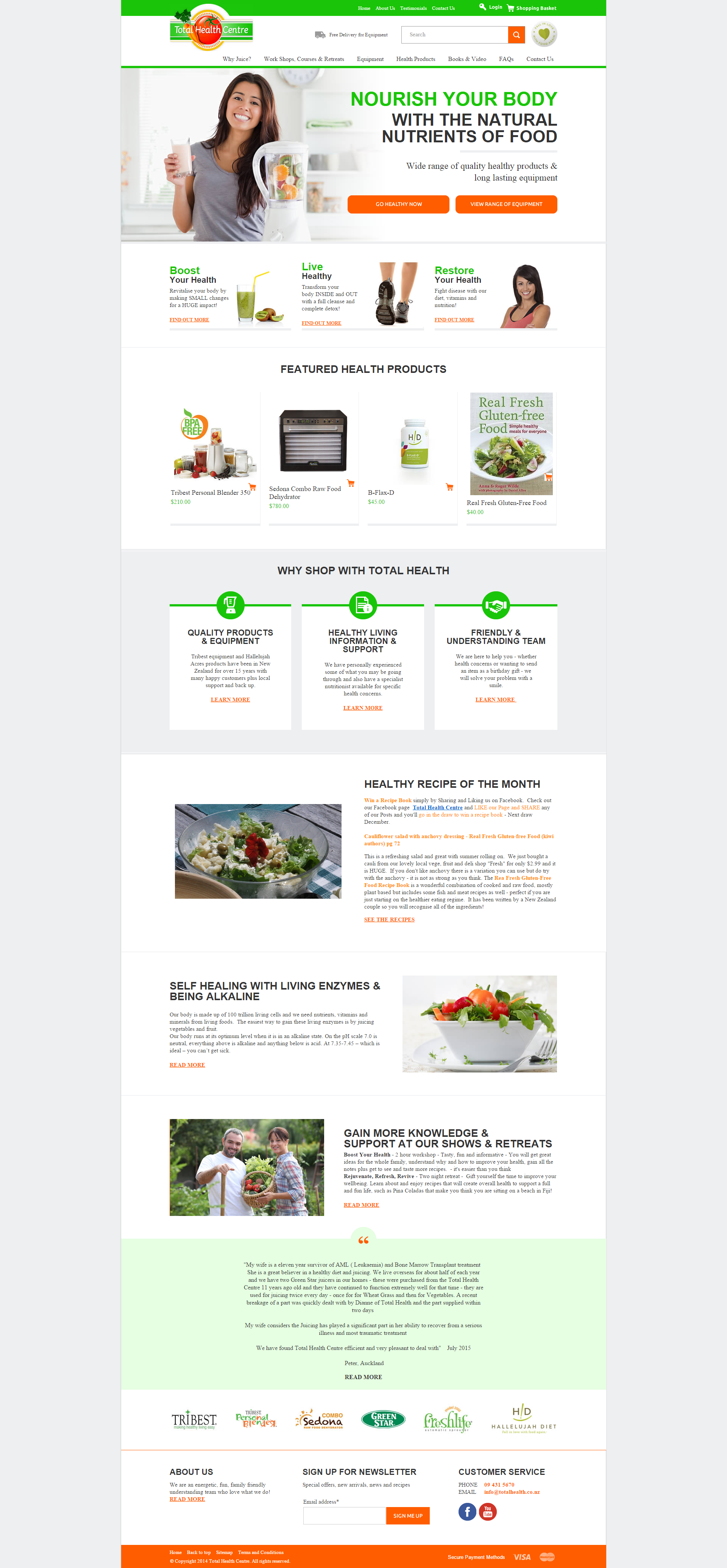 A Zeald Website has helped Total Health Center (http://www.totalhealth.co.nz/) to achieve their business dream, visit www.zeald.com/Our+Work for more. The art and science of good #websitedesign #website #websiteredesign #webdesign #designinsperation #rethinkyourwebsite #layout #redesign #redesignideas #redesigninspiration #creative #landingpages #beforeafter #responsive #leadgeneration #travel #wordpress #leadgen #accomodation #technology