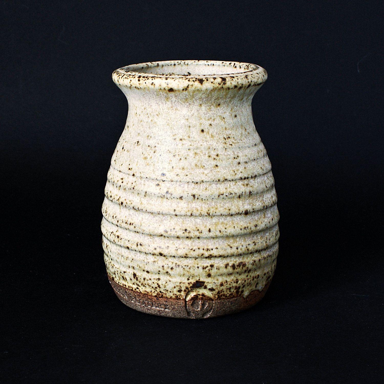 Bladon Studio Pottery Vase Graham Piggott - O mark IO mark OI mark