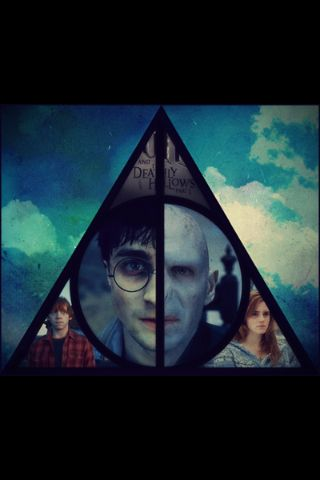 Harry potter <3 deathly hallows.