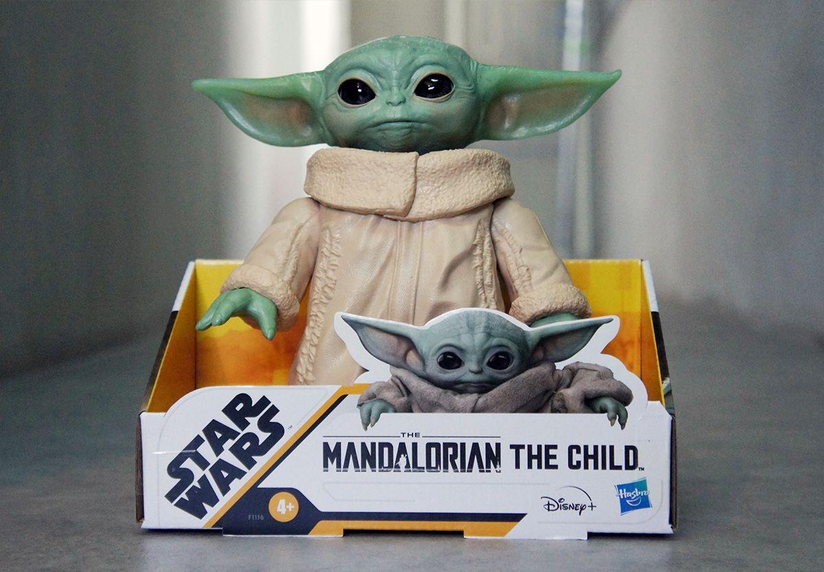"Star Wars Baby Yoda The Child The Mandalorian 6.5/"" Posable Action Figure Grogu"
