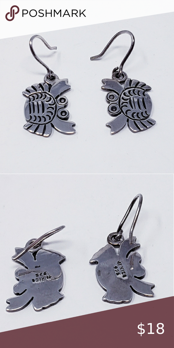 Sterling Silver 925 Crab Earrings