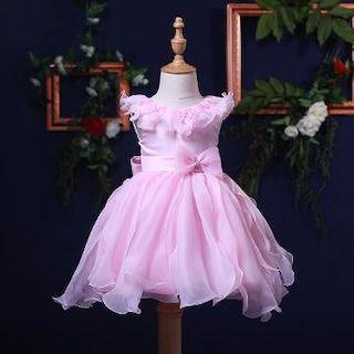 4dfd7dd082ef9f Hopscotch - Si Rosa - Cute Flowers Applique Party Dress - Purple ...