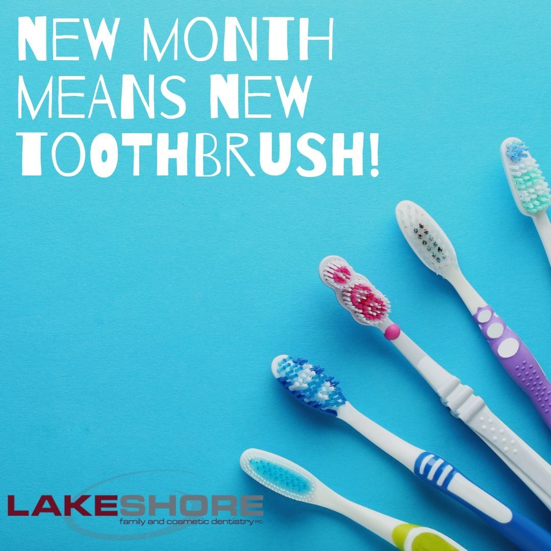 August is here! It's time to change your toothbrush